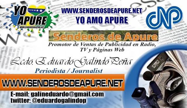 """Para Recaudación de Fondos y Donativos Senderos de Apure y Proyecto """"Yo Amo Apure desde Venezuela"""