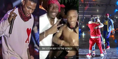 Wizkid & Shatta Wale party together after their reconciliation at Ghana Meets Naija