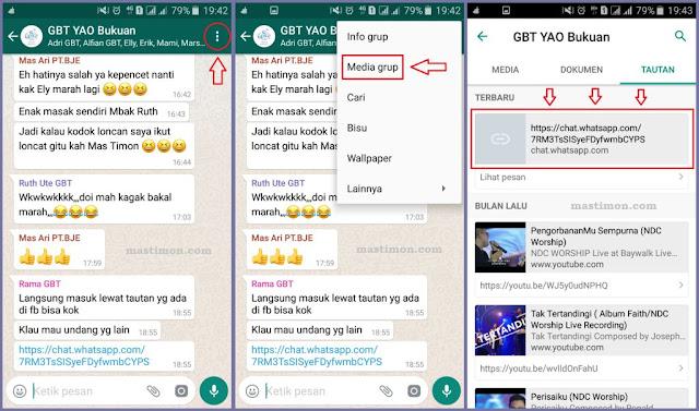 Cara Mendapat Link Tautan Group Wa (Whatapp) Untuk Dibagikan
