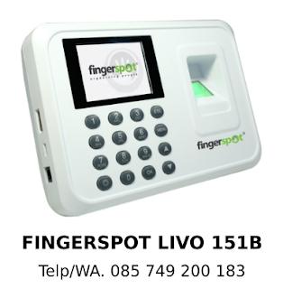 Distributor Fingerspot Livo 151B Murah Asli Berkualitas