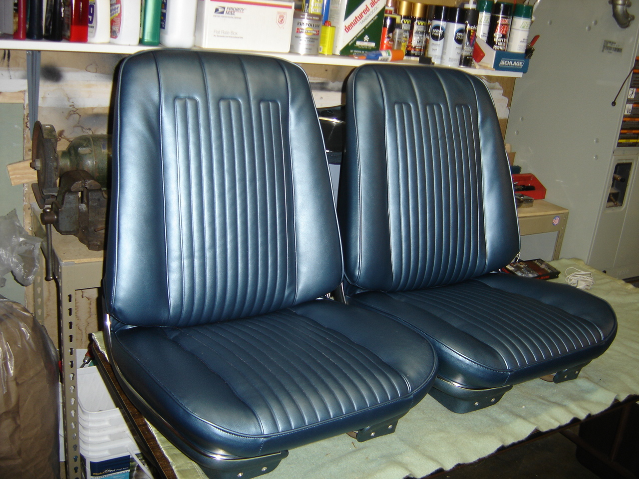 1968 GTO Bucket Seats & Rear Seat | Classic Seat Restorations - www