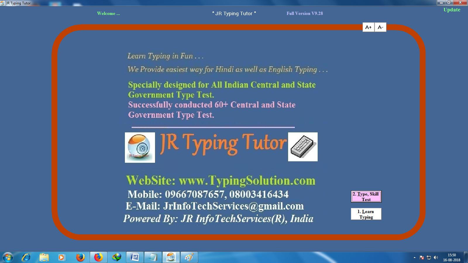 jr typing tutor hindi typing tutor download free online ( 100 % free)
