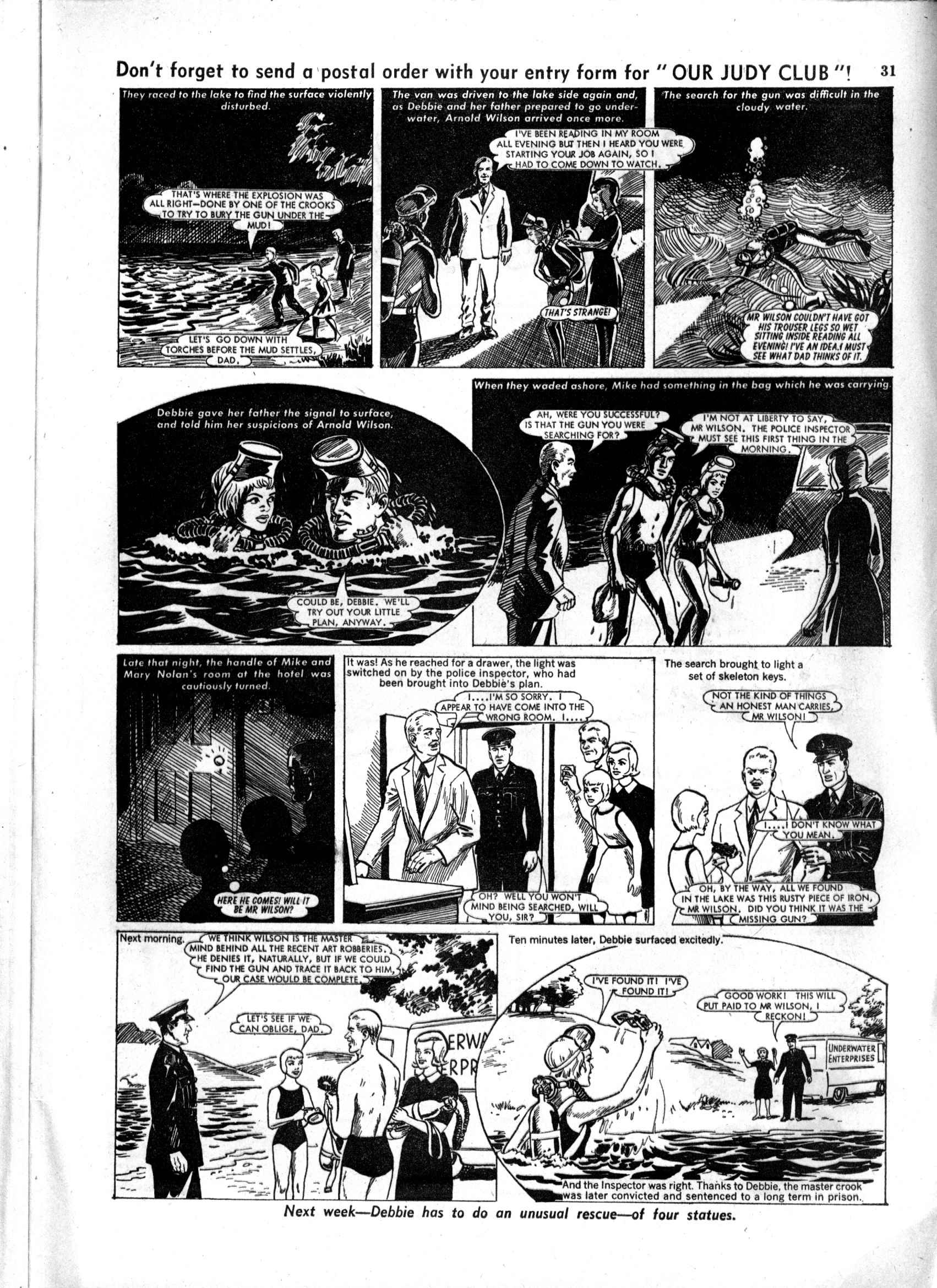 Read online Judy comic -  Issue #197 - 31