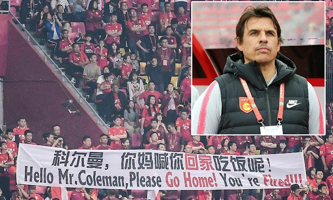 Chris Coleman is sacked