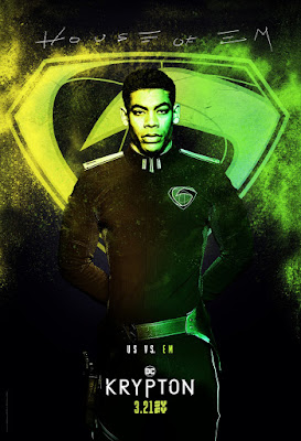Krypton Television Series One Sheet Teaser Character Posters by Syfy x DC Comic