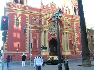 Iglesia de la Merced, Santiago de Chile, Chile, vuelta al mundo, round the world, La vuelta al mundo de Asun y Ricardo