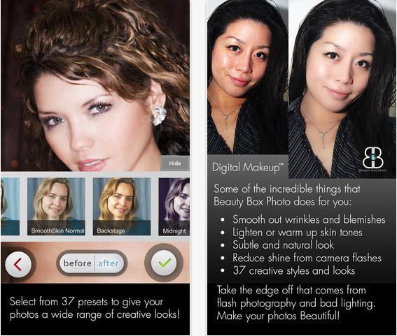 Beauty Box Photo Iphone Ipad Digital Makeup App