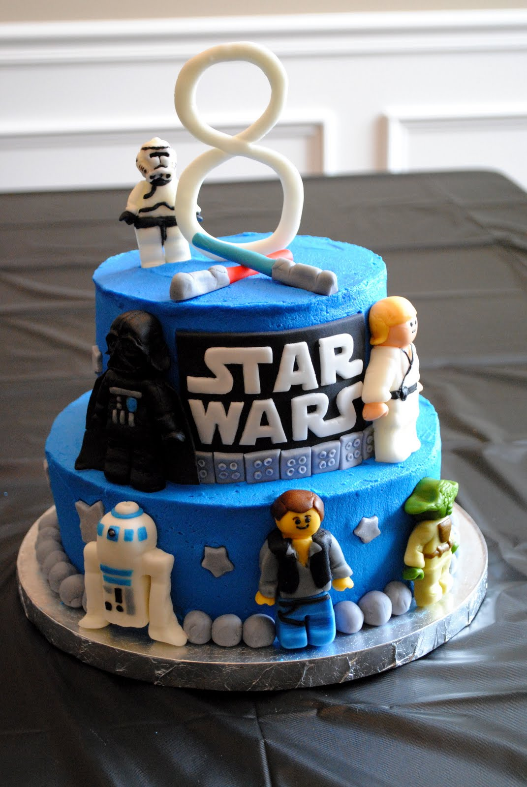 Birthday Cake Star Wars Lego Birthday Cakes