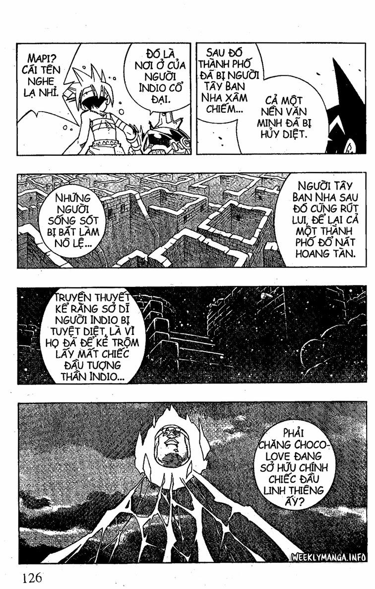 Shaman King [Vua pháp thuật] chap 203 trang 17