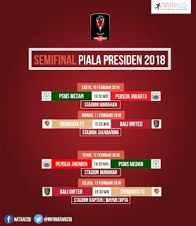 Semifinal Piala Presiden 2018