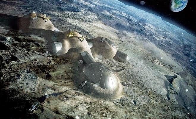 Τελικά βρέθηκαν αρχαίες πόλεις και μηχάνημα τεχνολογίας ελέγχου της βαρύτητας στη Σελήνη;;