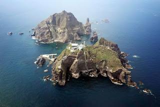 Pulau Sengketa Jepang - Korea Selatan