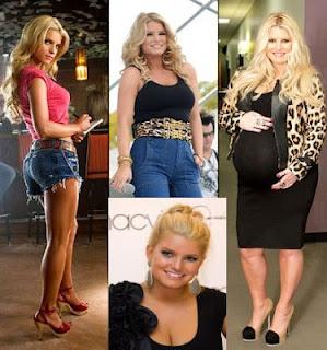 poza Jessica Simpson inainte de sarcina, in timpul sarcinii, grasa si dupa ce a nascut si a slabit