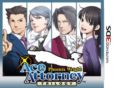 Phoenix Wright Ace Attorney Trilogy CIA 3DS EUR