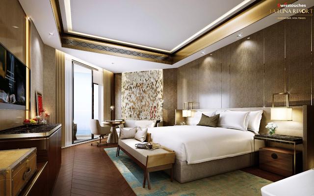 Thiết kế căn hộ sang trọng quý phái tại dự án La Luna Resort