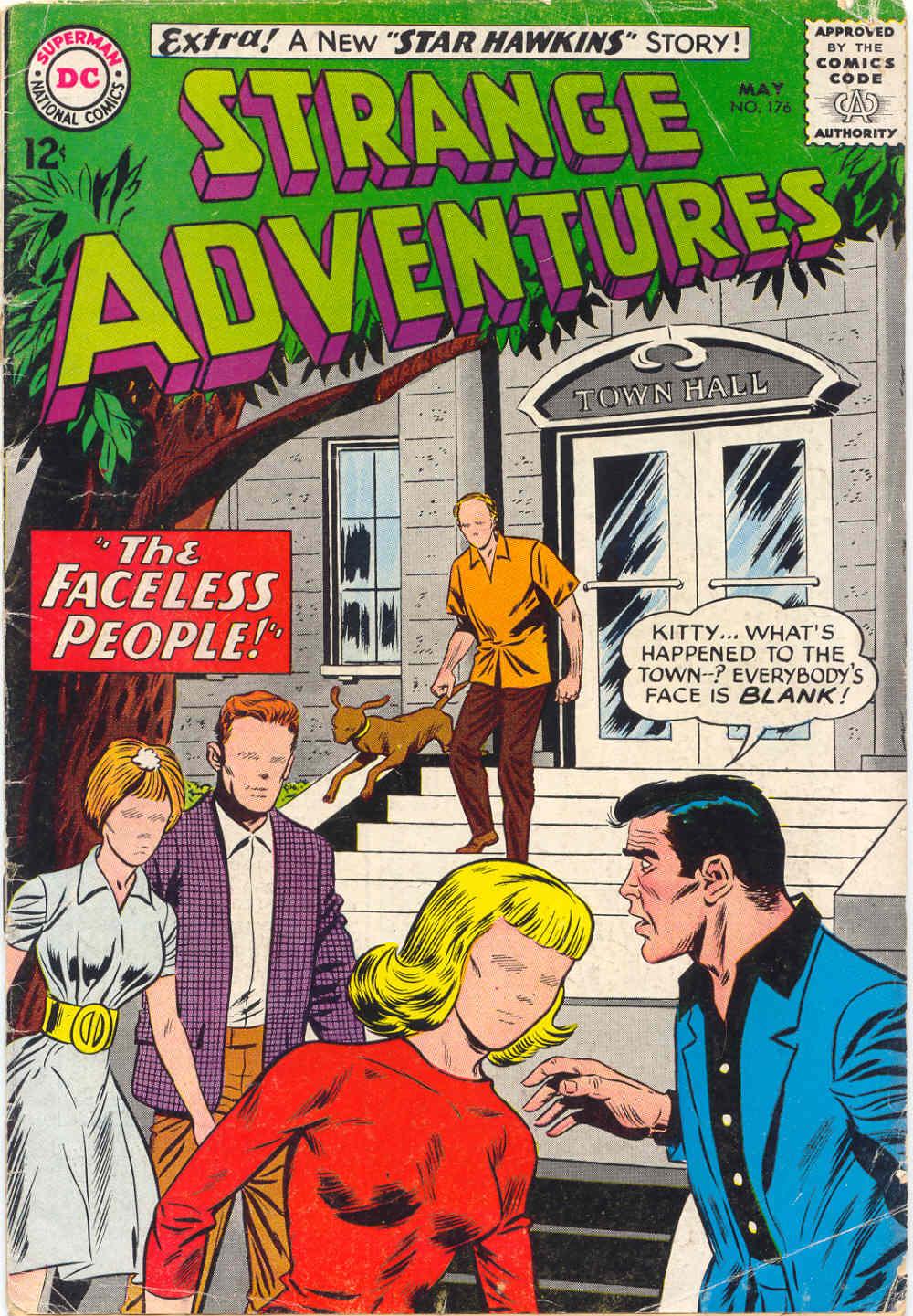 Strange Adventures (1950) issue 176 - Page 1