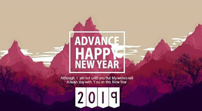Advance Wish Happy New Year 2019