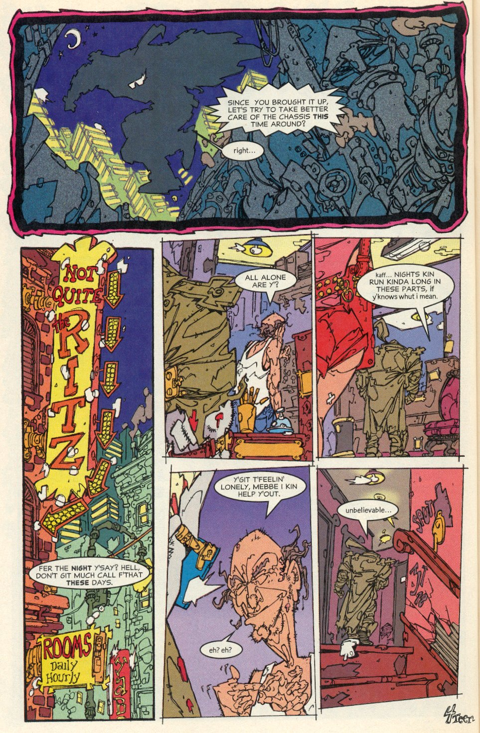 Read online Trencher comic -  Issue #1 - 16