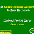 Get Google Adsense Account in Just 15 Hours ~ trick Hub