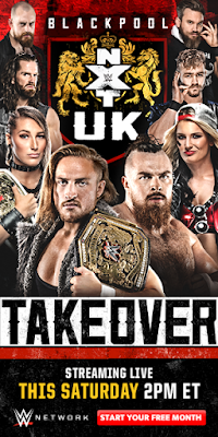 NXT UK TakeOver Blackpool 13 January 2019 WEBRip 720p 1Gb