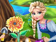 لعبة بنات زراعة الزهور مع ايلزا