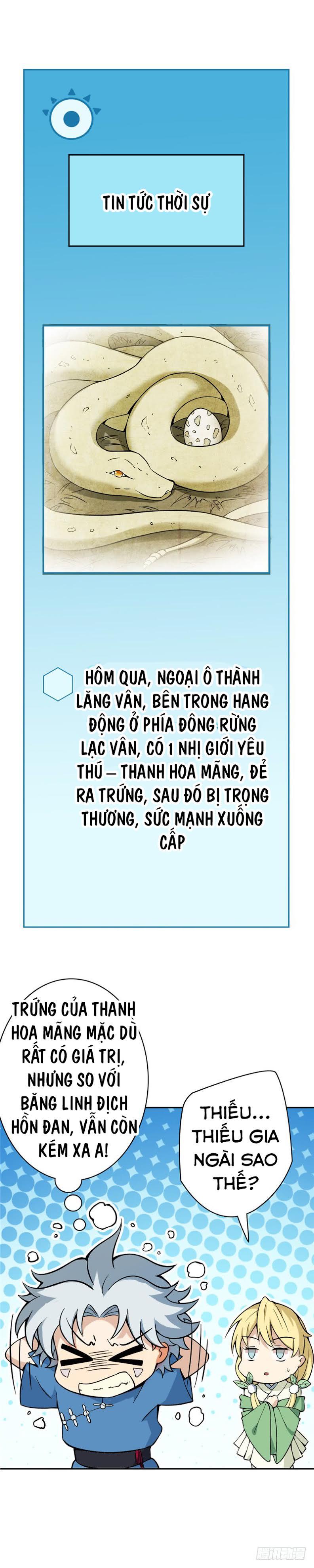 Chí Tôn Võ Đế - Chap 9
