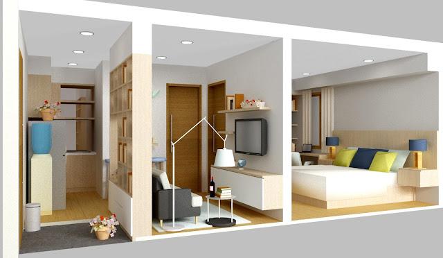 Tata Ruang Interior Kamar Untuk Rumah Kost