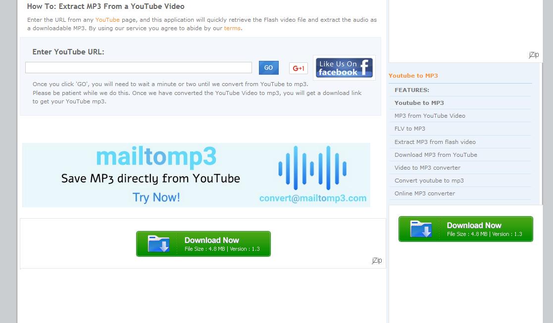 موقع لتحميل مقاطع الفيديو من اليوتيوب بصيغة Mp3