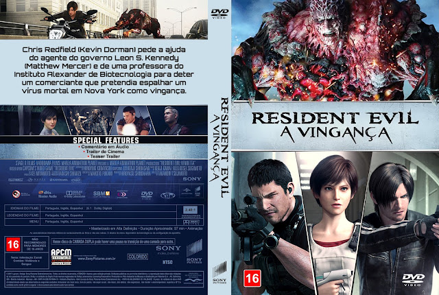 Capa DVD Resident Evil A Vingança [Exclusiva]