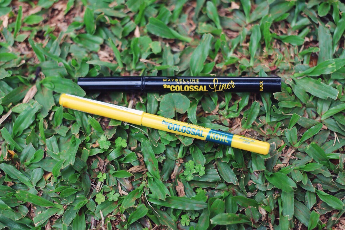 Maybelline Colossal Liner Swatch Review
