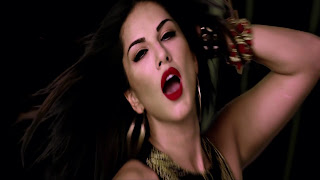 Hot Sunny Leone Red Lips Wallpapers