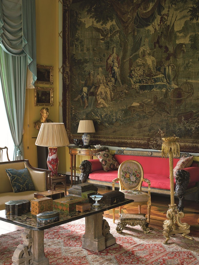 English Country House Drawing Rooms: English Country Decor September 10, 2015