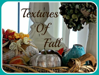 Vintage, Paint and more... several simple vignettes done for fall