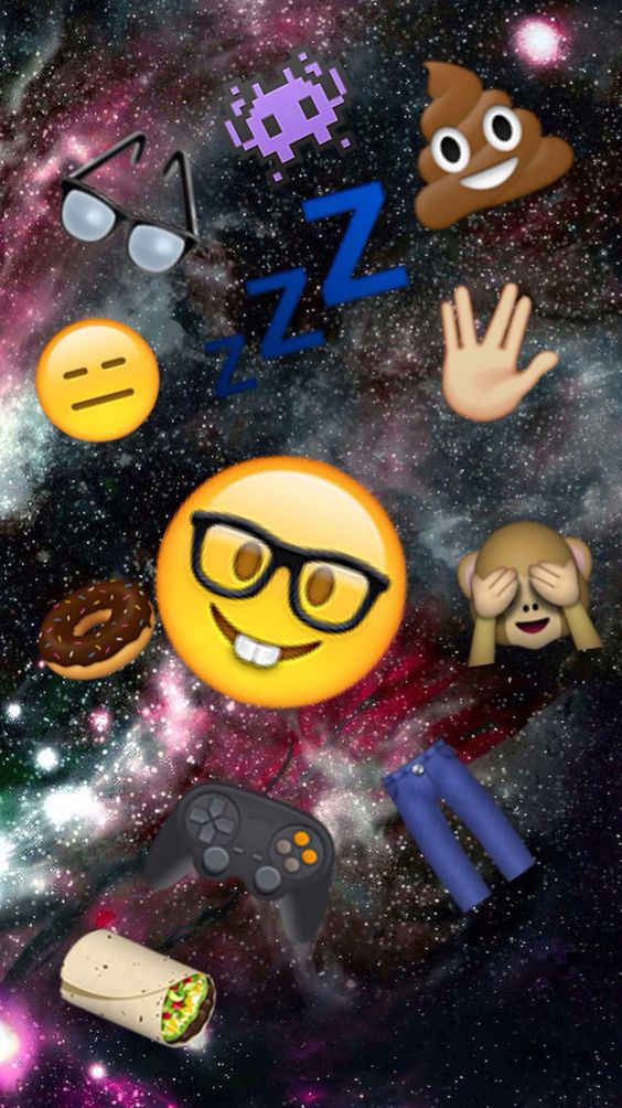 iphone emoji wallpapers