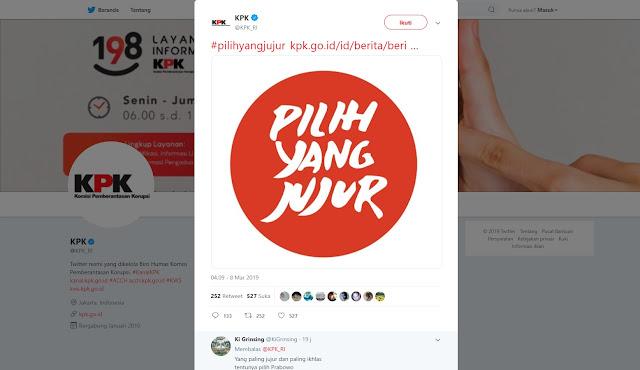 KPK Luncurkan Tagline #PilihYangJujur, Fahri: Mantap! KPK Kasih Kode Tidak Pilih Pembohong