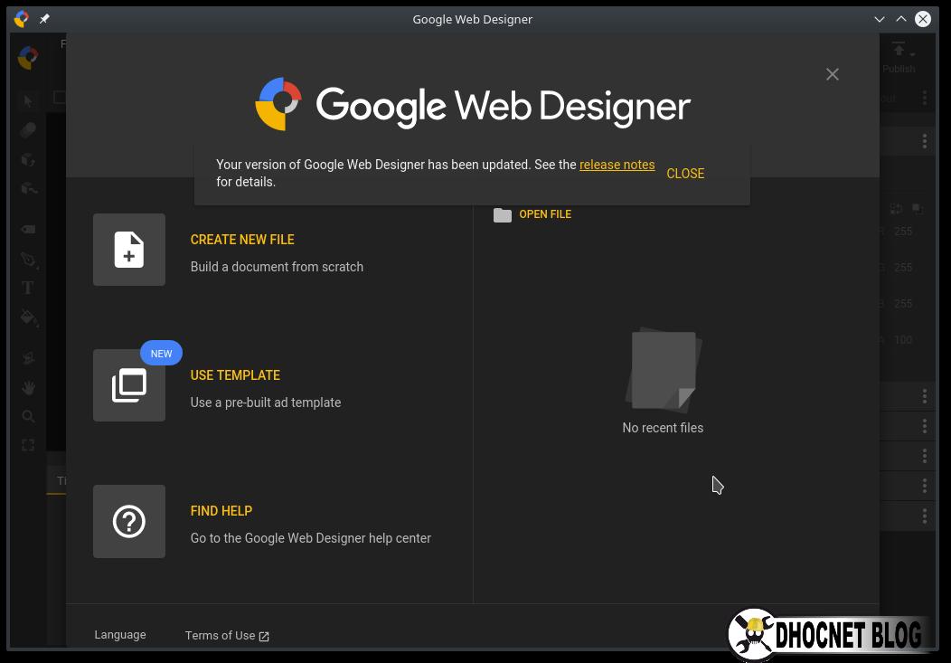 Instalasi Google Web Designer  Pada OpenSUSE Leap Linux