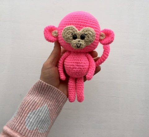 Amidorable Crochet Monkey Pattern