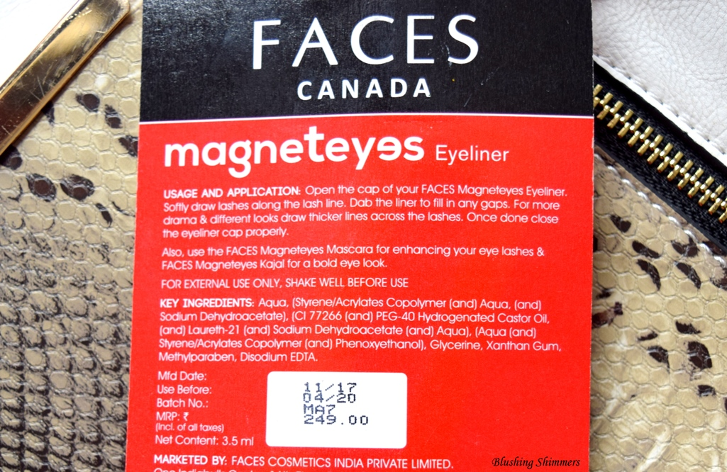 Faces Magneteyes Eyeliner Price