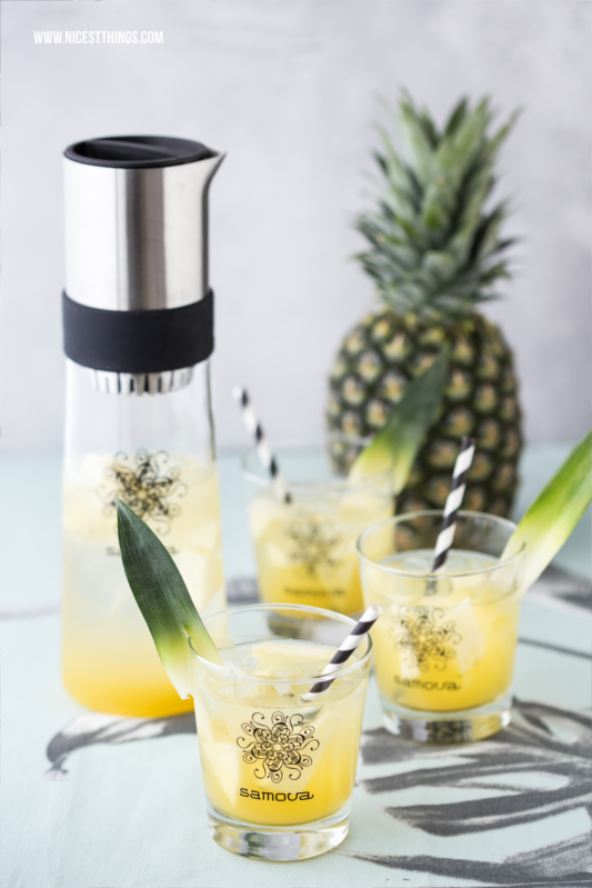 Tea Jay Rezepte Eistee Rezept im Tea Jay Pina Colada Ananas