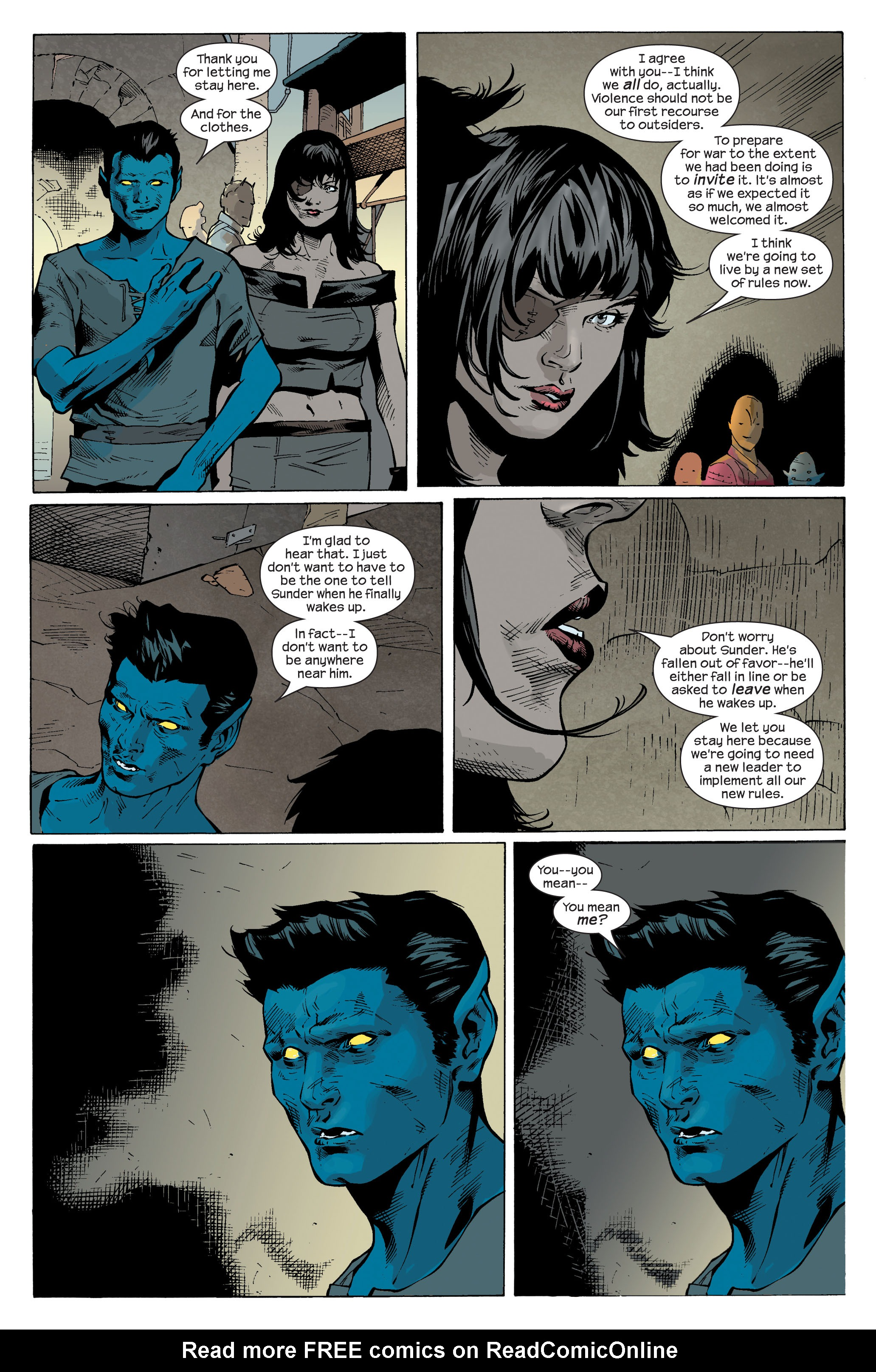 Read online Ultimate X-Men comic -  Issue #83 - 21
