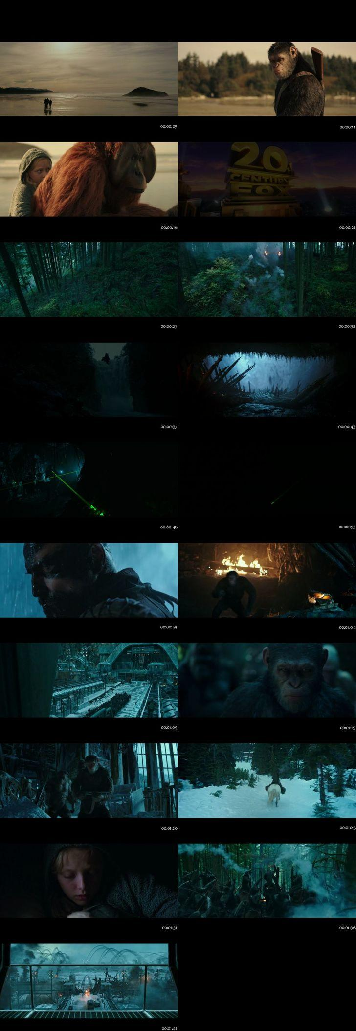 Screenshots Of War for the Planet of the Apes 2017 Theatrical Official Trailer Free Download HD 720P