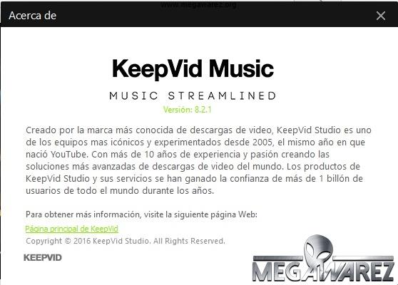 KeepVid Music 8 imagenes