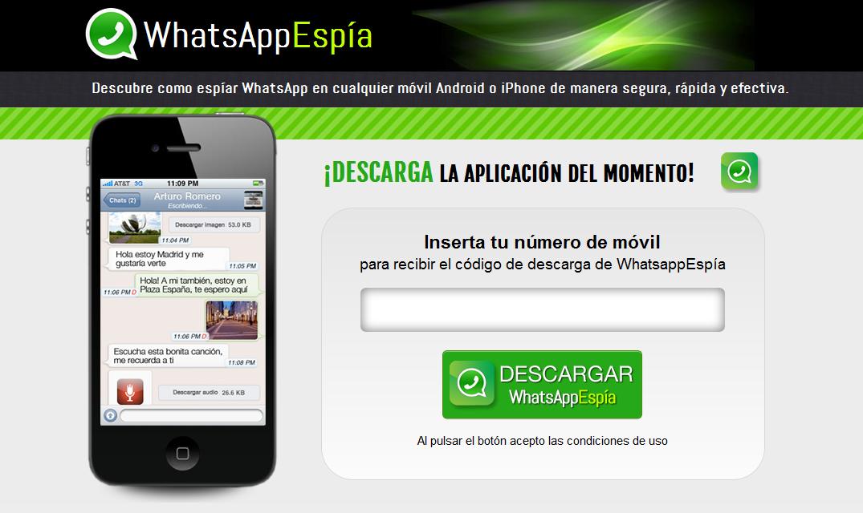 Espia para WhatsApp 2.2 Actualizar