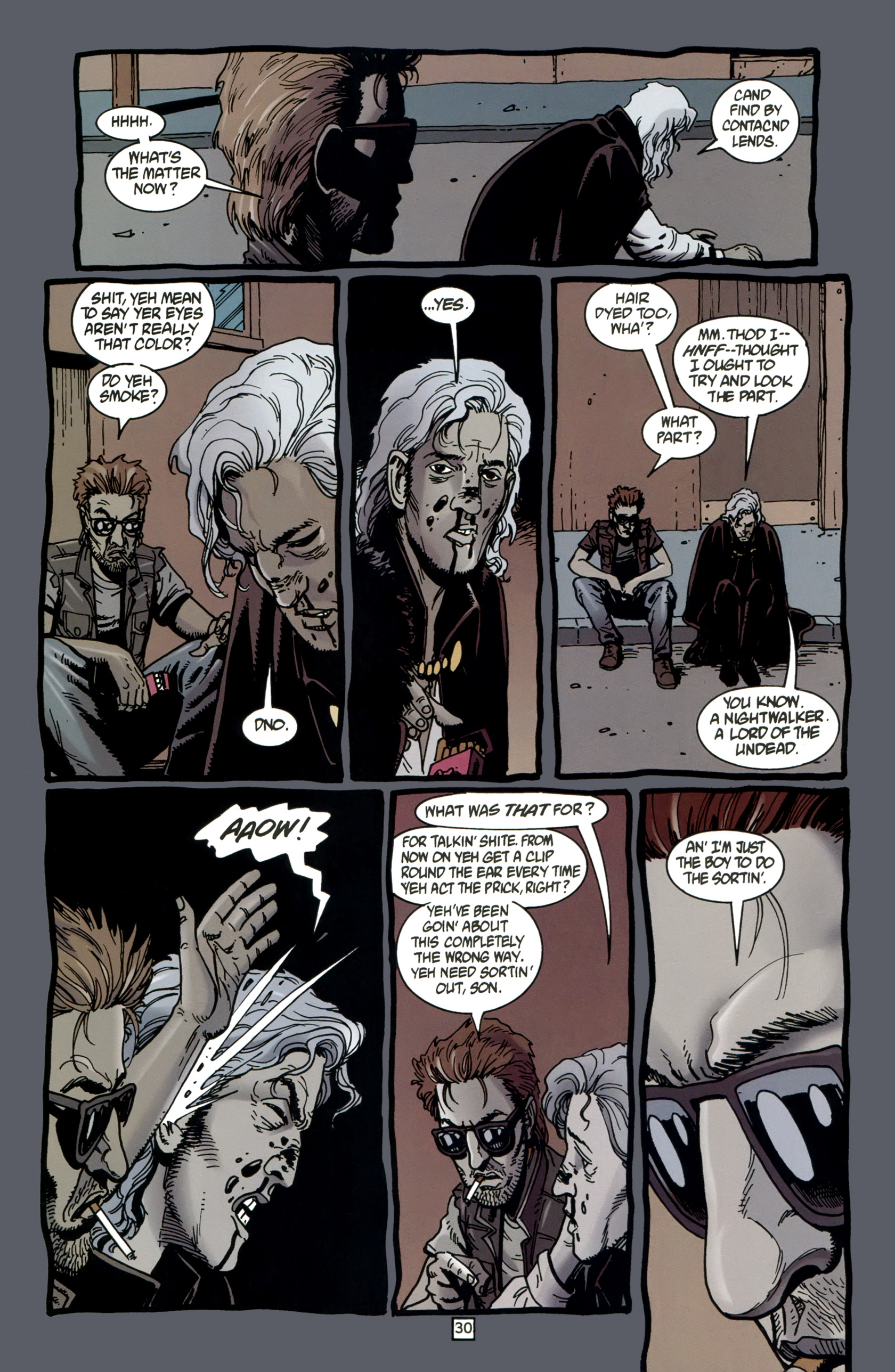Read online Preacher Special: Cassidy : Blood and Whiskey comic -  Issue # Full - 32