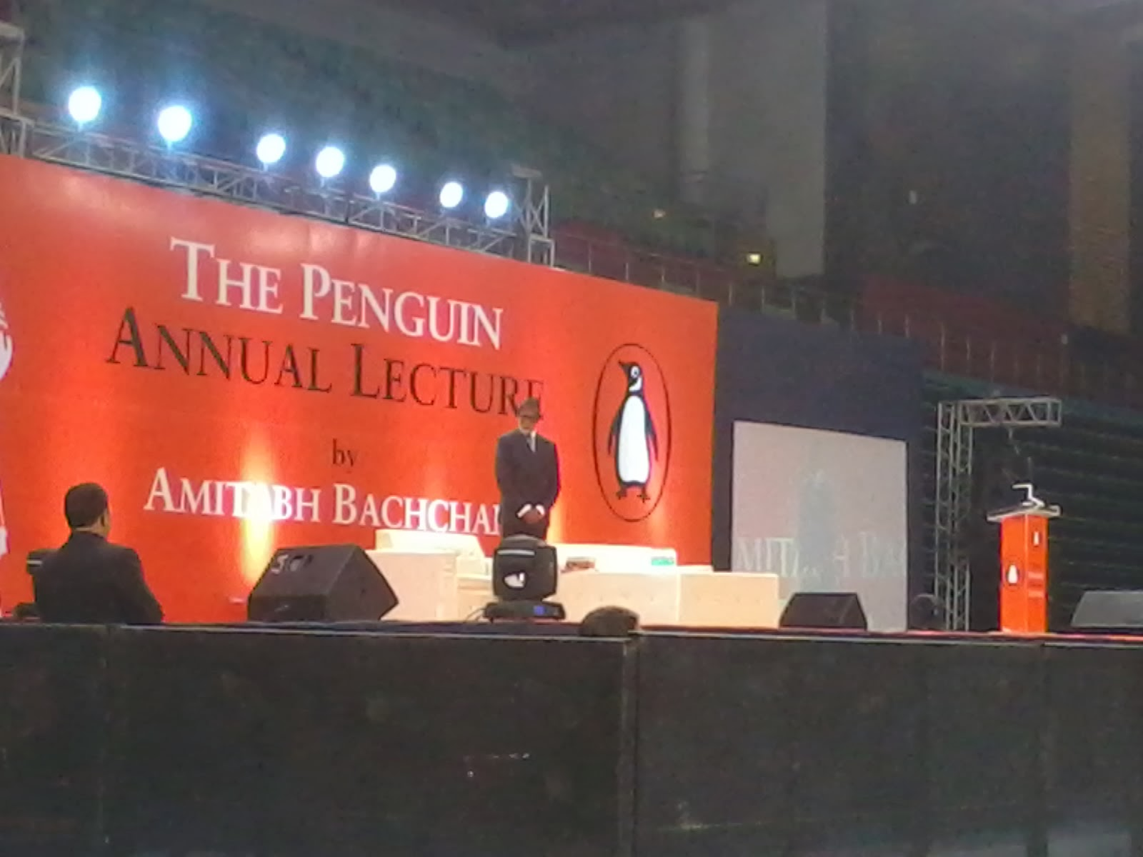 Penguin Annual Lecture By Amitabh Bachchan