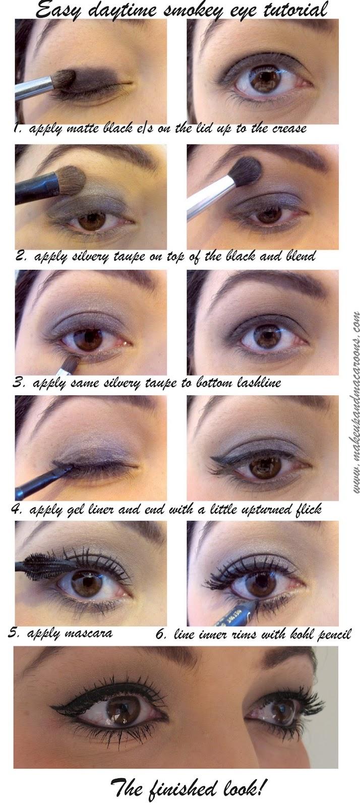 makeup and macaroons easy daytime smokey eye tutorial