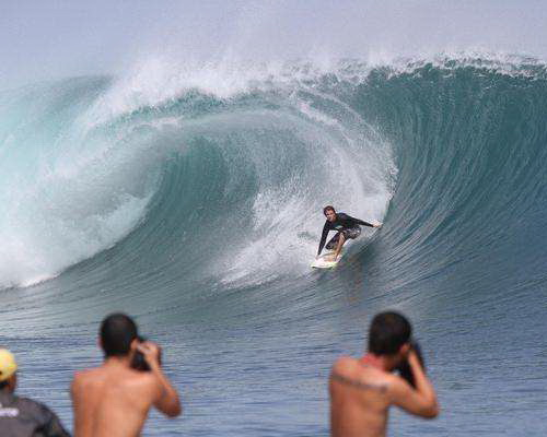 Tinuku.com Travel G-Land Plengkung beach Banyuwangi powerful waves surfing paradise in Alas Purwo National Park