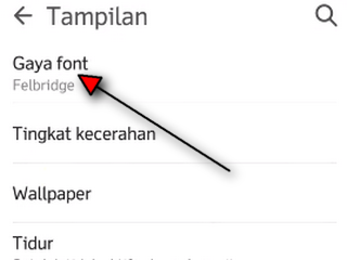 cara ganti font android root