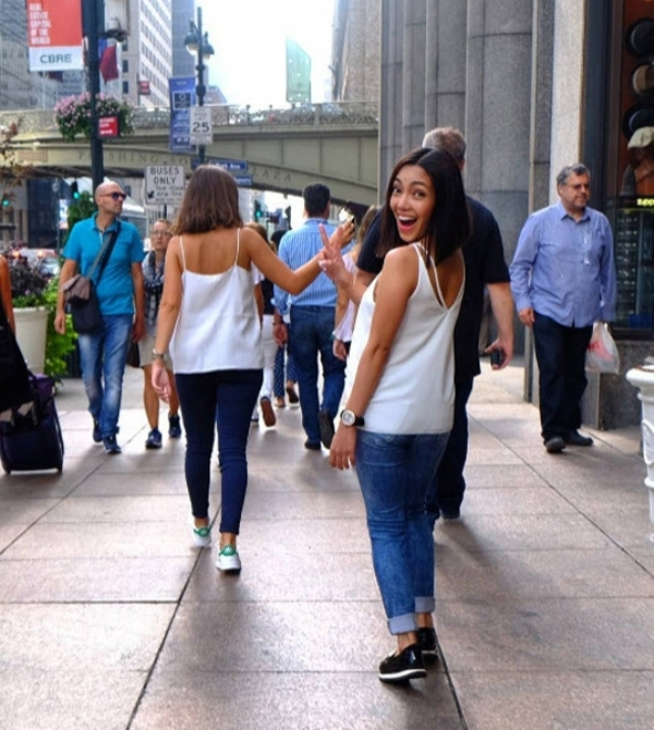 Jonalyn 'Jona' Viray finds her doppelganger in New York