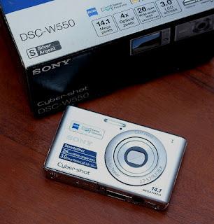 Jual Camdig Bekas Sony DSC-W550
